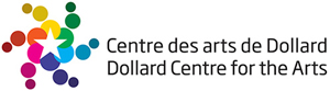Centre des arts de Dollard Logo